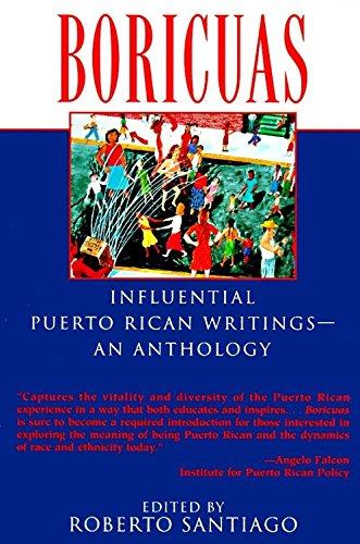 Boricuas: Influential Puerto Rican Writings--an Anthology (Paperback): Roberto Santiago
