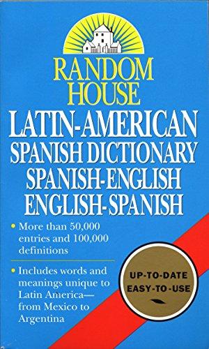 9780345405463: Latin- American Spanish Dictionary: Spanish-English, English-Spanish