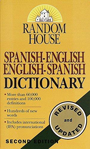 9780345405470: Random House Spanish-English English-Spanish Dictionary