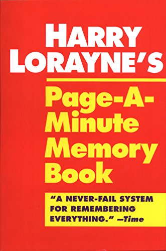 9780345410146: Harry Lorayne's Page-a-Minute Memory Book