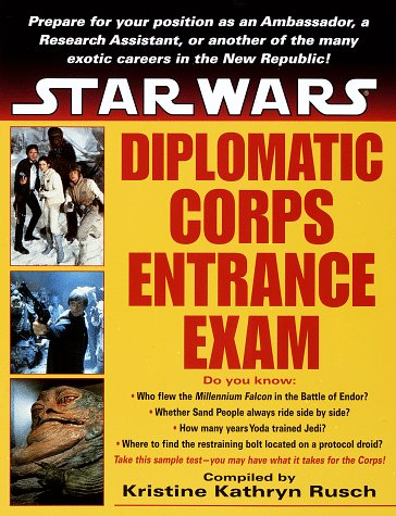 9780345414120: Star Wars: Diplomatic Corps Entrance Exam