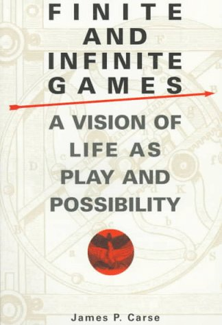 9780345419026: Finite and Infinite Games (MM to TR Promotion)