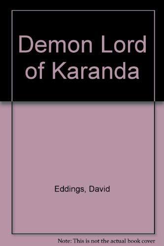 9780345419187: Demon Lord of Karanda