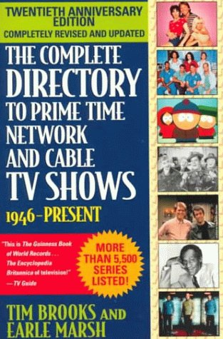9780345429230: The Complete Directory to Prime Time Network and Cable TV Shows: 1946-present