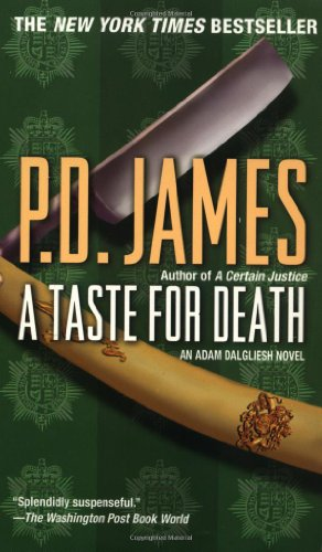 9780345430588: A Taste for Death (Adam Dalgliesh Mysteries, No. 7)