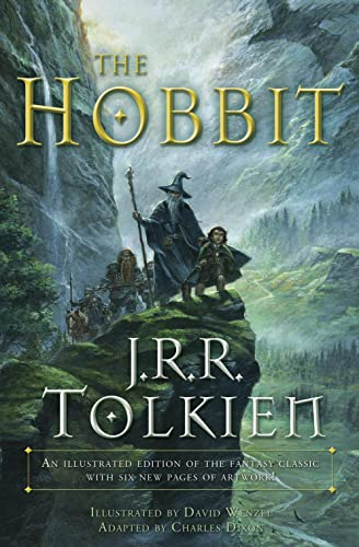 9780345445605: The Hobbit (Graphic Novel) with a subtitle of An illustrated edition of the fantasy classic