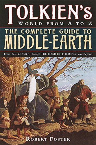 9780345449764: Tolkien's World from A to Z: The Complete Guide to Middle-Earth
