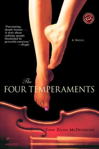 9780345451187: The Four Temperaments: A Novel (Ballantine Reader's Circle)