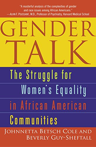 9780345454133: Gender Talk: The Struggle for Women's Equality in African American Communities