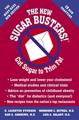 New Sugar Busters : Cut Sugar