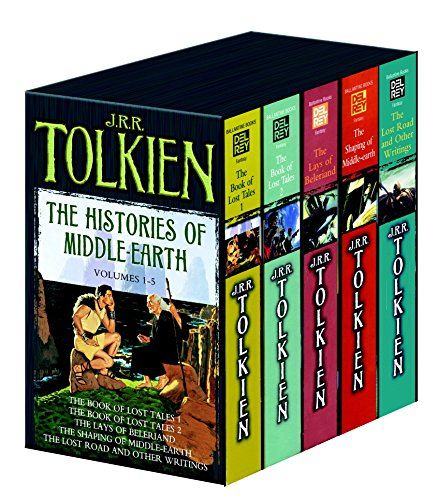 9780345466457: Histories of Middle Earth 5c box set MM