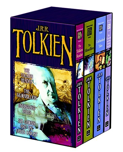 9780345466464: Tolkien Fantasy Tales Box Set (The Tolkien Reader/The Silmarillion/Unfinished Tales/Sir Gawain and the Green Knight)
