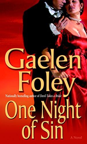 9780345480095: One Night of Sin: A Novel (Knight Miscellany)