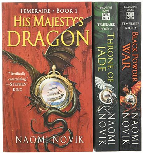 9780345489241: His Majesty's Dragon: Book 1 / Throne of Jade: Book 2 / Black Powder War: Book 3 (Temeraire Box Set)