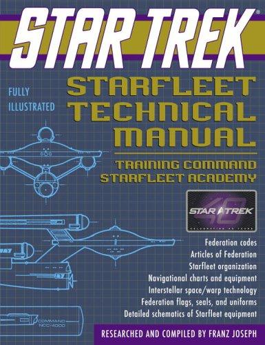 9780345495860: Star Trek Starfleet Technical Manual: Training Command Starfleet Academy