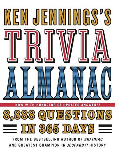 9780345499974: Ken Jennings's Trivia Almanac: 8,888 Questions in 365 Days