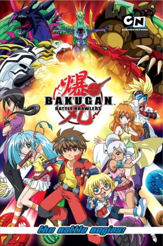 Bakugan Battle Brawlers: The Battle Begins!: Cartoon Network