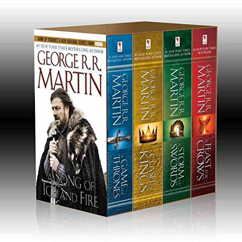 9780345529053: A Song of Ice and Fire, (4 Vols.): A Game of Thrones / A Clash of Kings / A Storm of Swords / A Feast for Crows