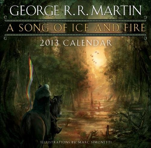 9780345531544: 2013 A Song Of Ice And Fire Calendar