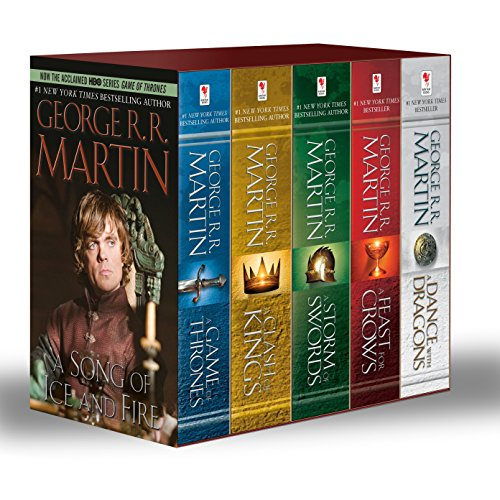 9780345535566: Game of Thrones 5-Copy Boxed Set: A Game of Thrones, A Clash of Kings, A Storm of Swords, A Feast for Crows, and A Dance with Dragons (Bantam Books)