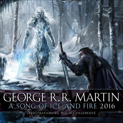 9780345537973: A Song of Ice and Fire 2016 Calendar (Calendar 2016)