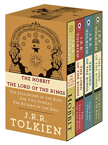 9780345538376: J.R.R. Tolkien 4-Book Boxed Set: The Hobbit and the Lord of the Rings (Movie Tie-In): The Hobbit, the Fellowship of the Ring, the Two Towers, the Retu