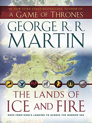 9780345538543: The Lands of Ice and Fire: Maps from King's Landing to Across the Narrow Sea
