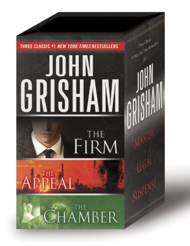 John Grisham 3-Copy Boxed Set: The Firm, The Appeal, The Chamber: Grisham, John