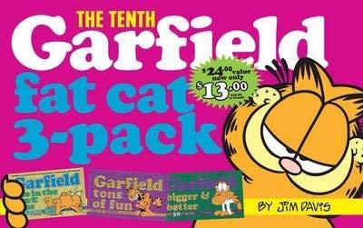 9780345916143: Garfield Fat Cat 3-Pack #10: Garfield Life in the Fat Lane (#28); Garfield Tons of Fun (#29); Garfield Bigger and Better (#30))