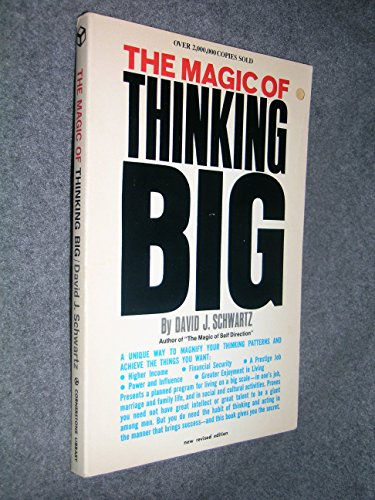 9780346122925: The Magic of Thinking Big