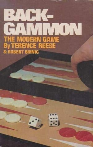 9780346123113: Backgammon: The Modern Game