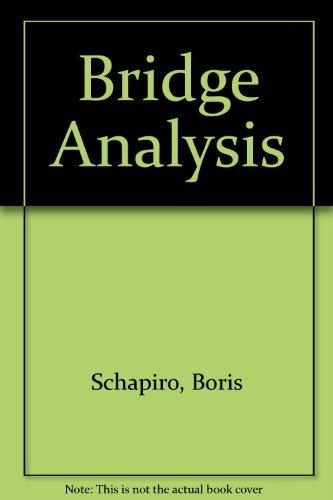9780346123120: Bridge Analysis