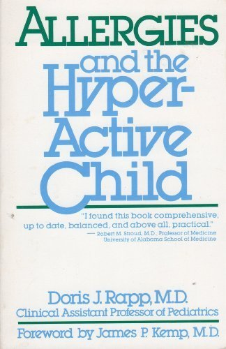 9780346124738: Allergies and the Hyperactive Child