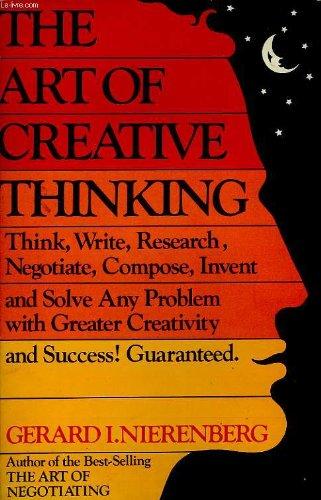 9780346125599: The Art of Creative Thinking
