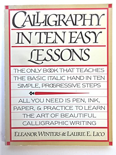 9780346126343: CALLIGRAPHY IN TEN EASY LESSONS