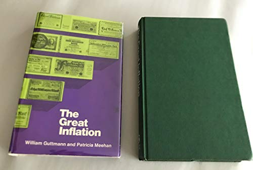 9780347000178: Great Inflation: Germany, 1923
