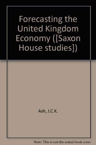 9780347010207: Forecasting the United Kingdom Economy
