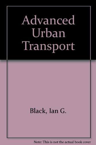 9780347010818: Advanced Urban Transport