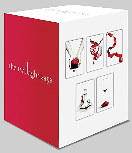 9780349001326: Twilight Saga 5 Book Set (White Cover)
