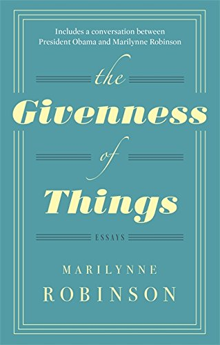 9780349007335: The Givenness Of Things