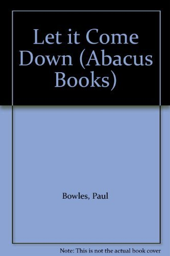 9780349101514: Let it Come Down (Abacus Books)