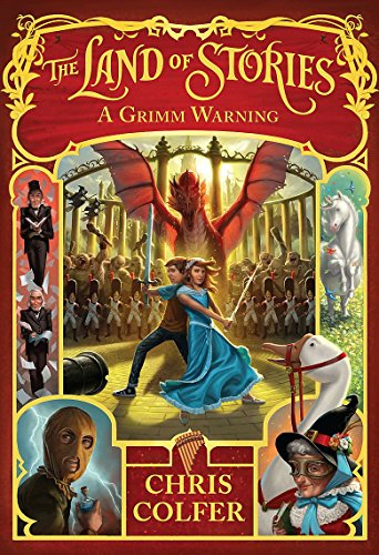 9780349124377: The Land of Stories: 03 A Grimm Warning