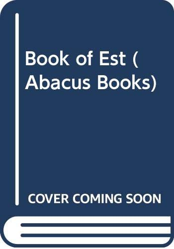 9780349129846: Book of Est (Abacus Books)