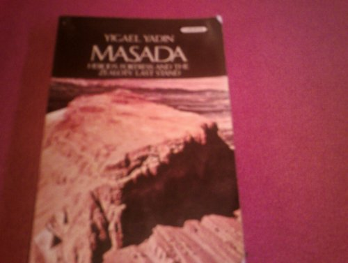 9780351188145: Masada, la derni�re citadelle d'isra�l.