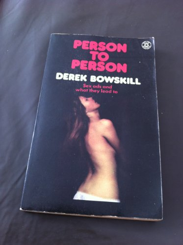 9780352300034: Person to Person: A Survey of the Intimate Personal Confrontation Business