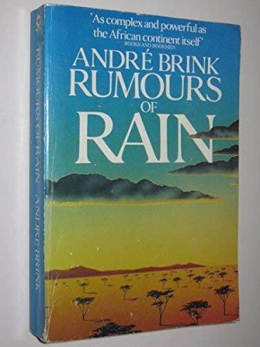 9780352305916: Rumours of Rain