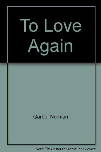 9780352309761: To Love Again