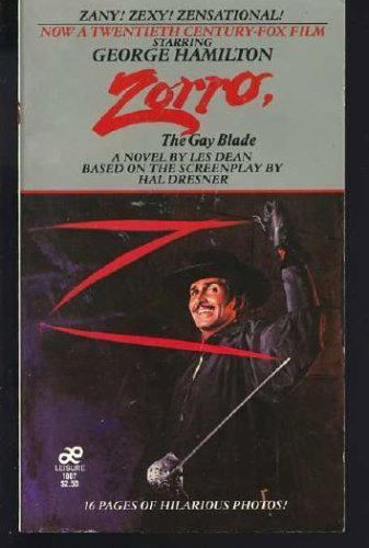 9780352310118: Zorro the Gay Blade