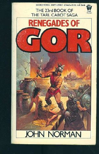 9780352318619: Renegades of Gor (The 23rd Book Of The Tarl Cabot Saga)