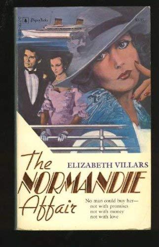 9780352325648: The Normandie Affair (Star)